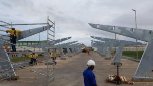 solar carpark Cargill Ghana