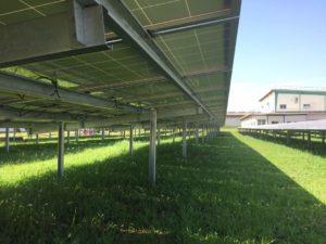 Praxia solar ground mount for Ghana