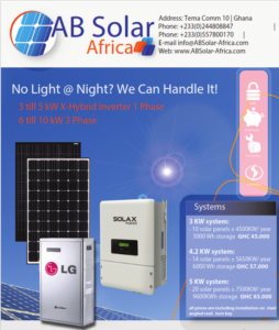AB solar solar with batteries