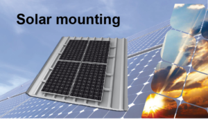 AB solar Africa solar mounting structures for Ghana