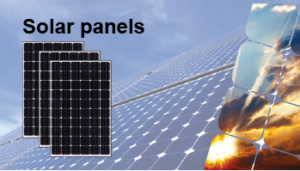 Solar panels from AB Solar Africa