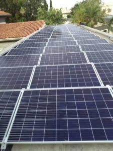 Jinko Solar panels at Danish embassy Ghana
